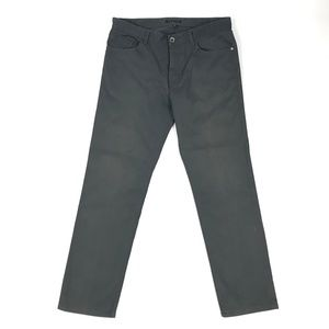 Theory Mens Haydin Pants Gray Button Fly